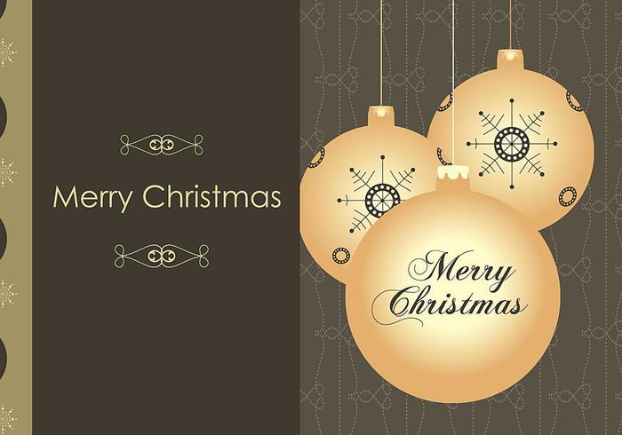 Paquet de papier peint Illustrator Christmas Ornament vecteur