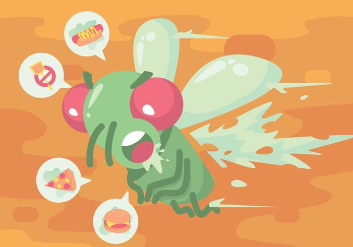 Fly Hate Swatter vecteur
