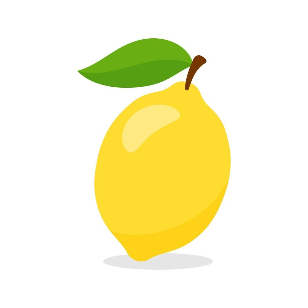 vecteur de fruits de citron