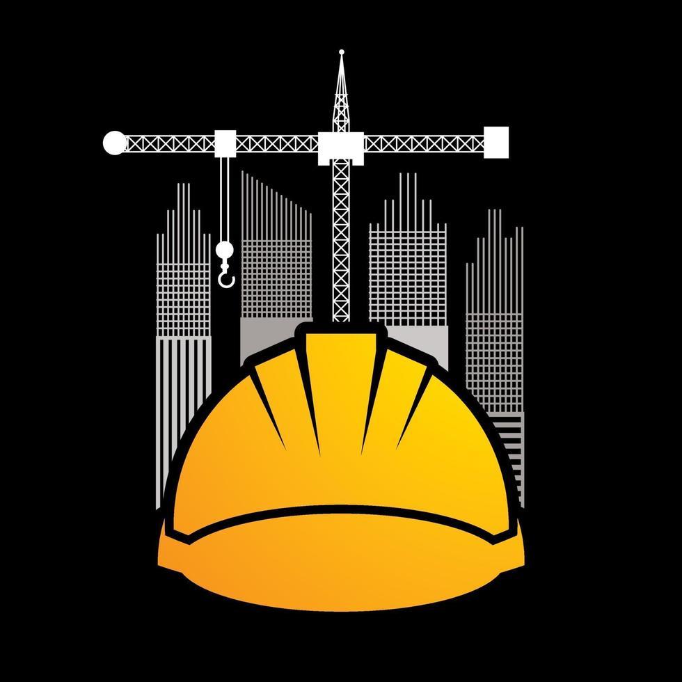 industrie du bâtiment de construction vecteur