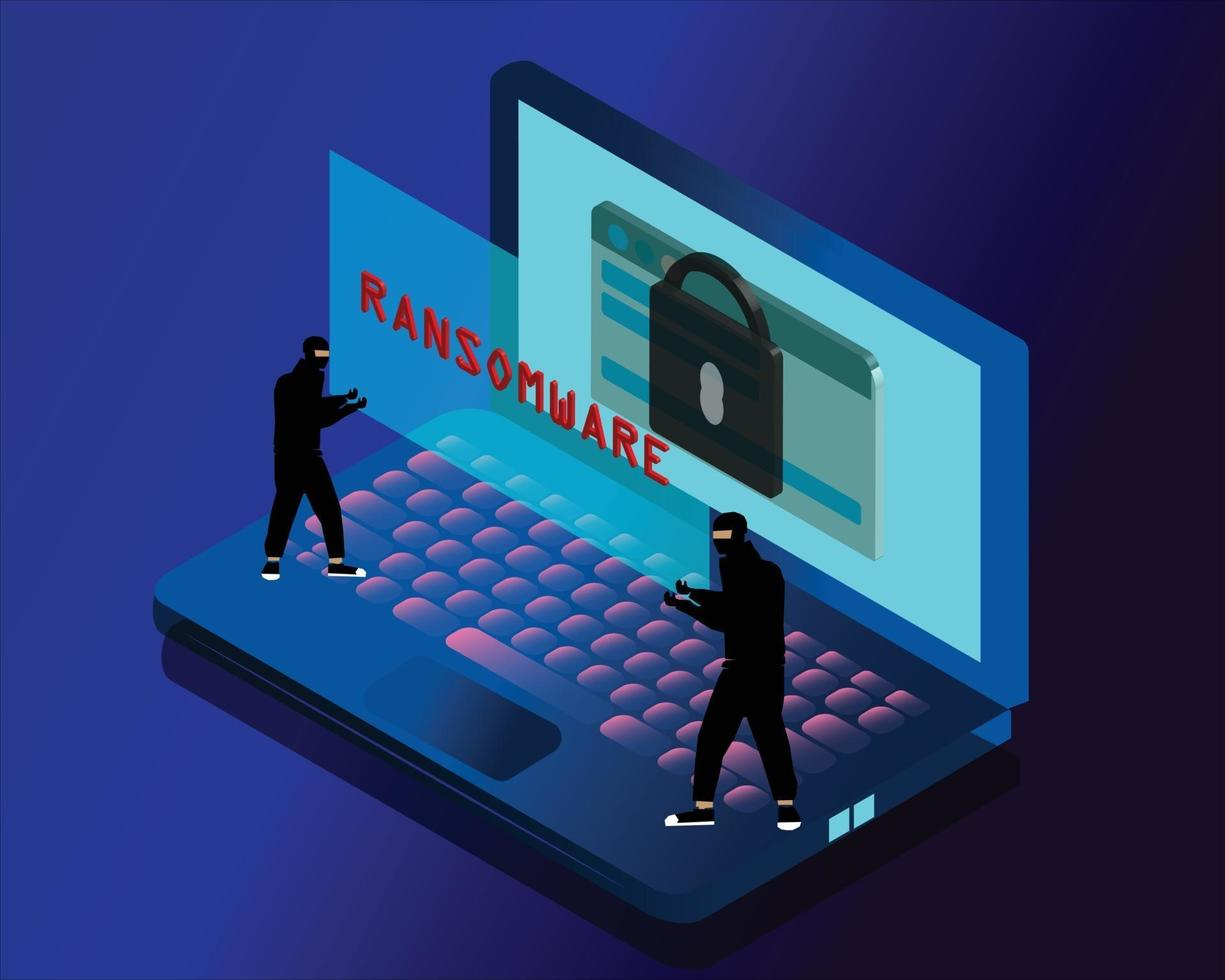 arnaque fraude fake news ransomware vecteur