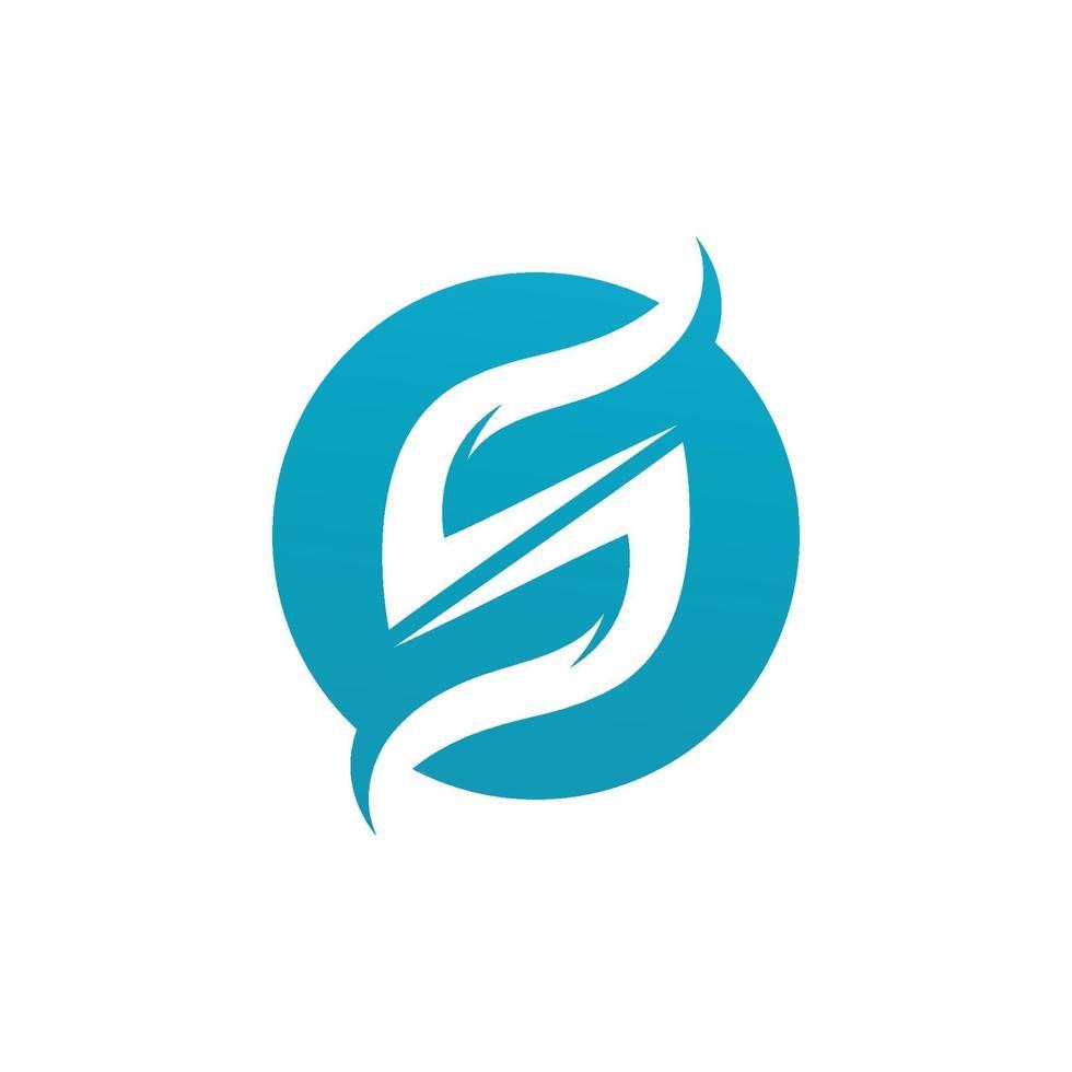 logo de lettre d entreprise entreprise vecteur
