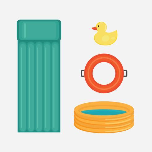 Pool Gonflables vecteur