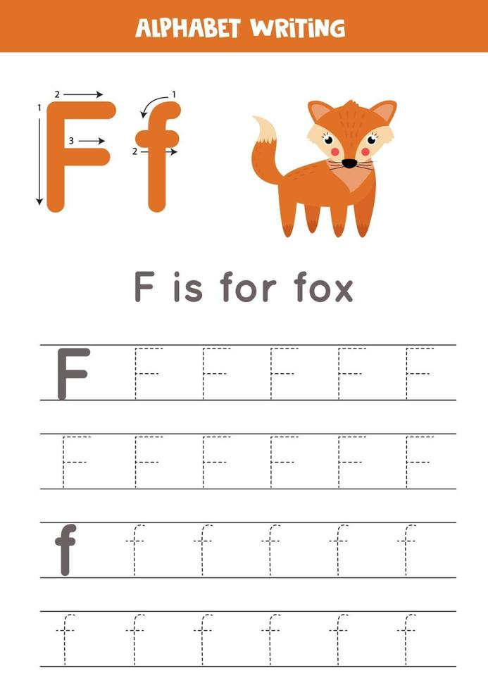 pratique de l'écriture manuscrite avec lettre de l'alphabet. traçage f. vecteur