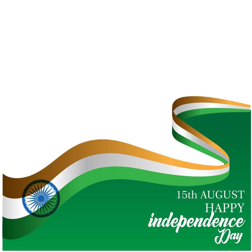 illustration de conception de modèle de vecteur de fête de l'indépendance