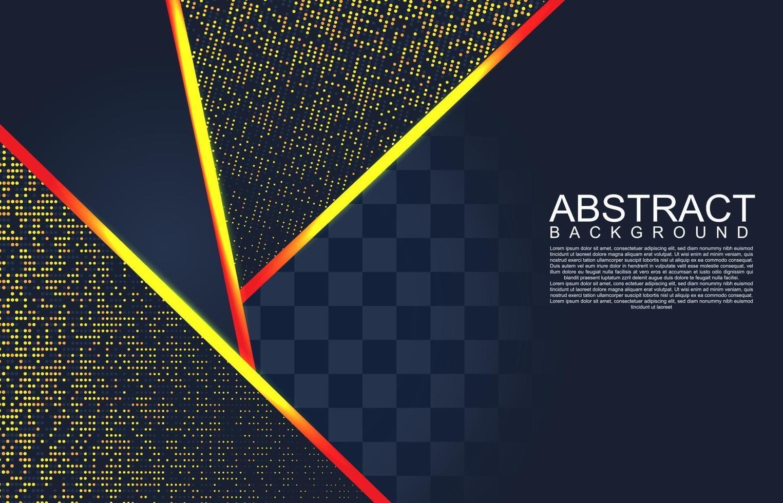 fond moderne avec effet scintillant. fond géométrique de conception abstraite moderne. fond géométrique abstrait. illustration vectorielle 3d. illustration vectorielle eps 10 vecteur