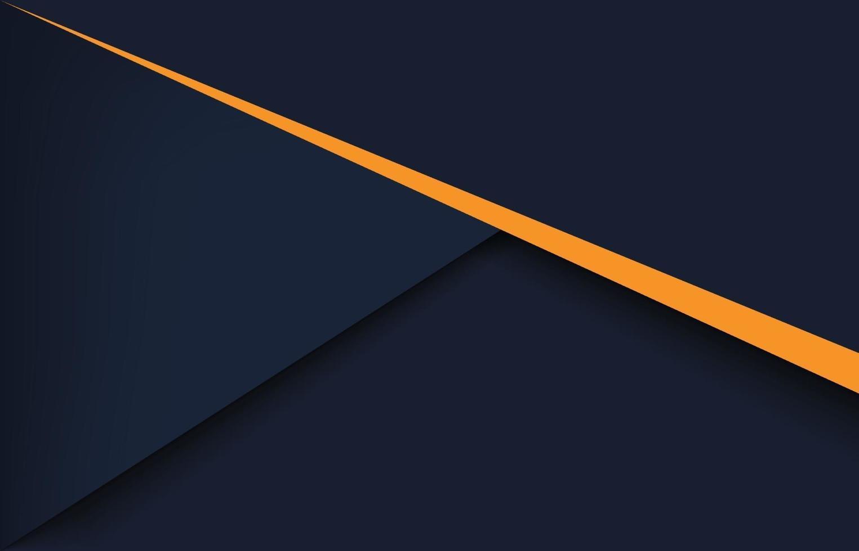 fond géométrique de conception abstraite noire moderne vecteur