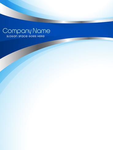 conception de brochure d'entreprise vecteur