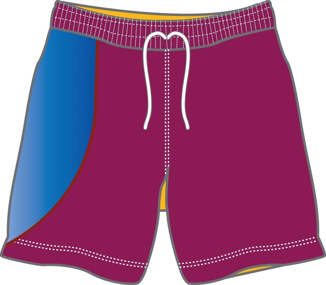 shorts de bain pour hommes vecteur