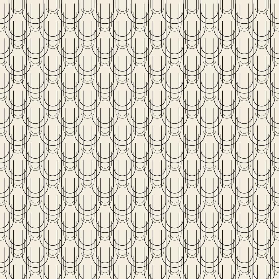 fond de texture monochrome abstraite transparente de la ligne curl vecteur