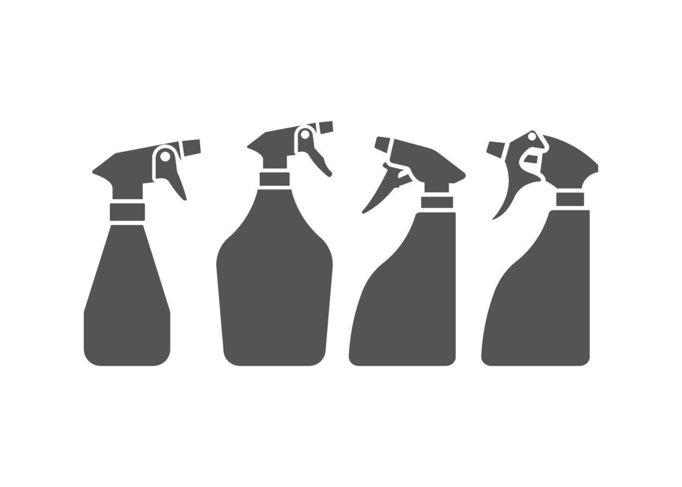 jeu de vecteur icône illustration pulvérisateur