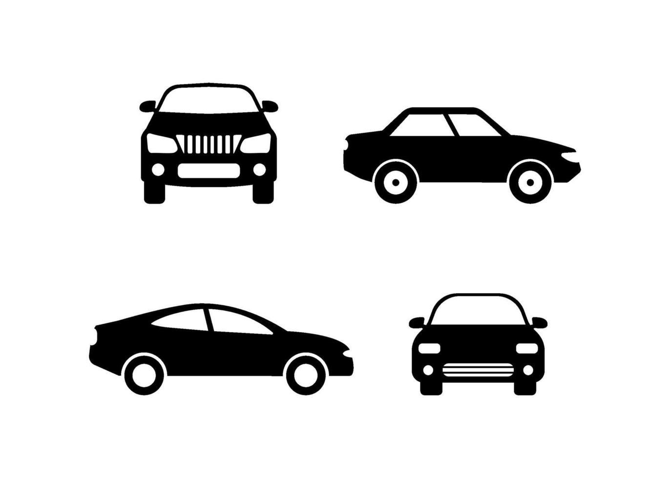 illustration vectorielle de voiture icône design modèle vecteur