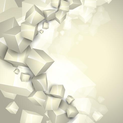 cubes de vecteur