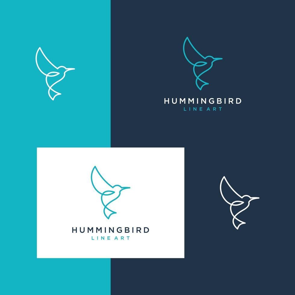 oiseau de conception de logo vecteur