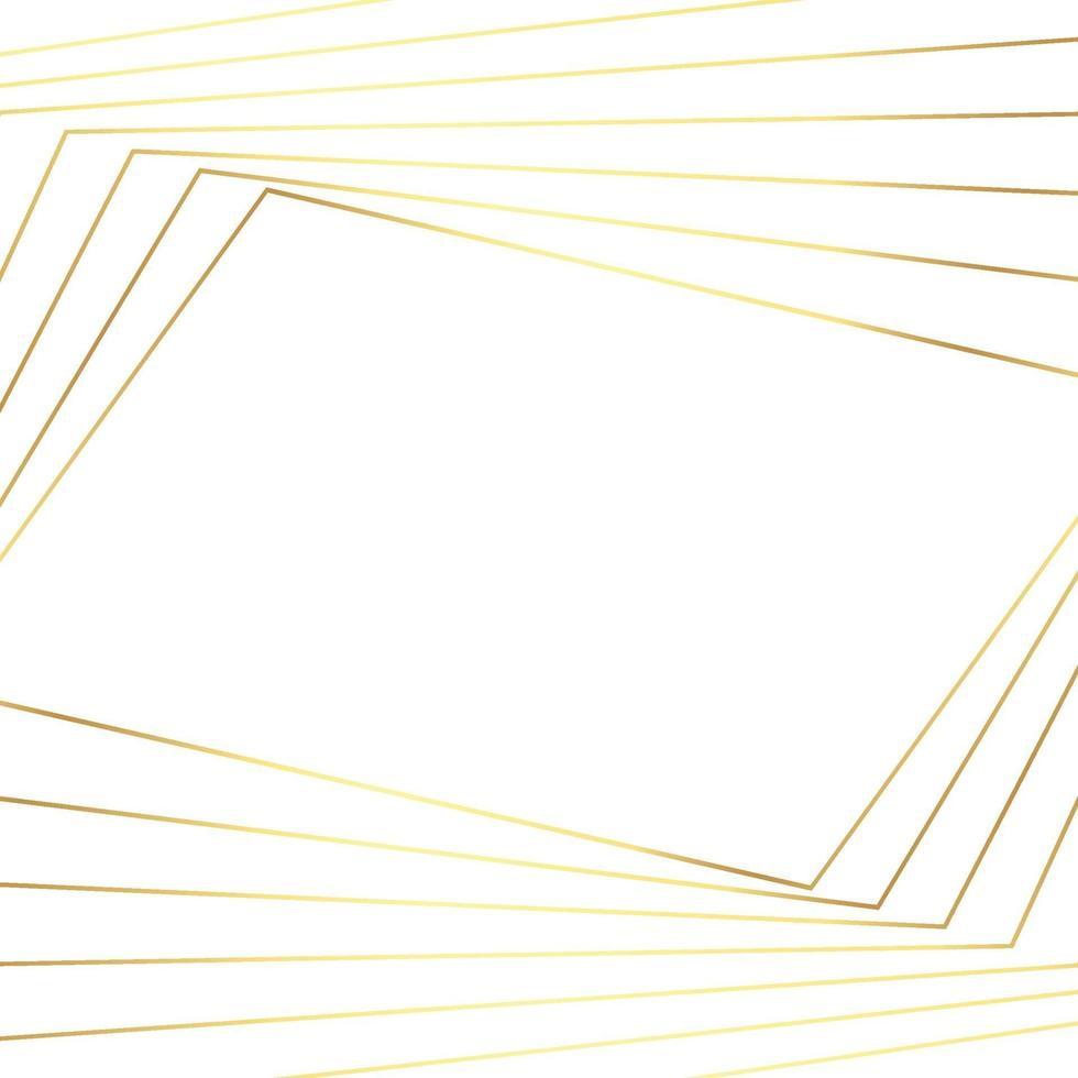 abstrait fond blanc avec des lignes dorées - vecteur
