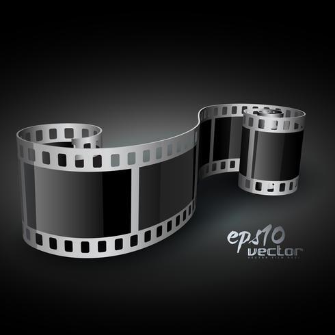 bobine de film de vecteur