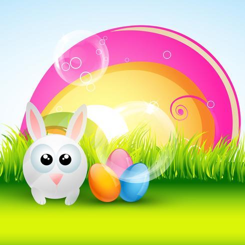 design coloré de Pâques vecteur