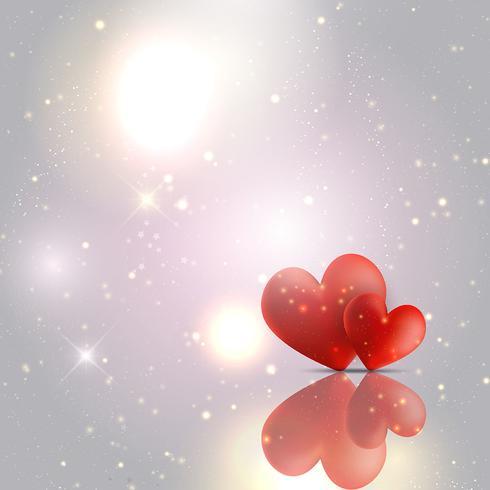 Fond de coeurs Saint Valentin vecteur
