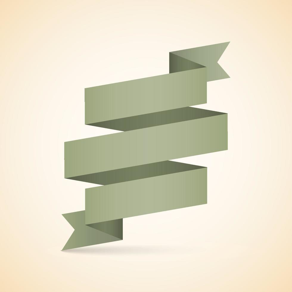 ruban vintage abstrait. illustration vectorielle vecteur