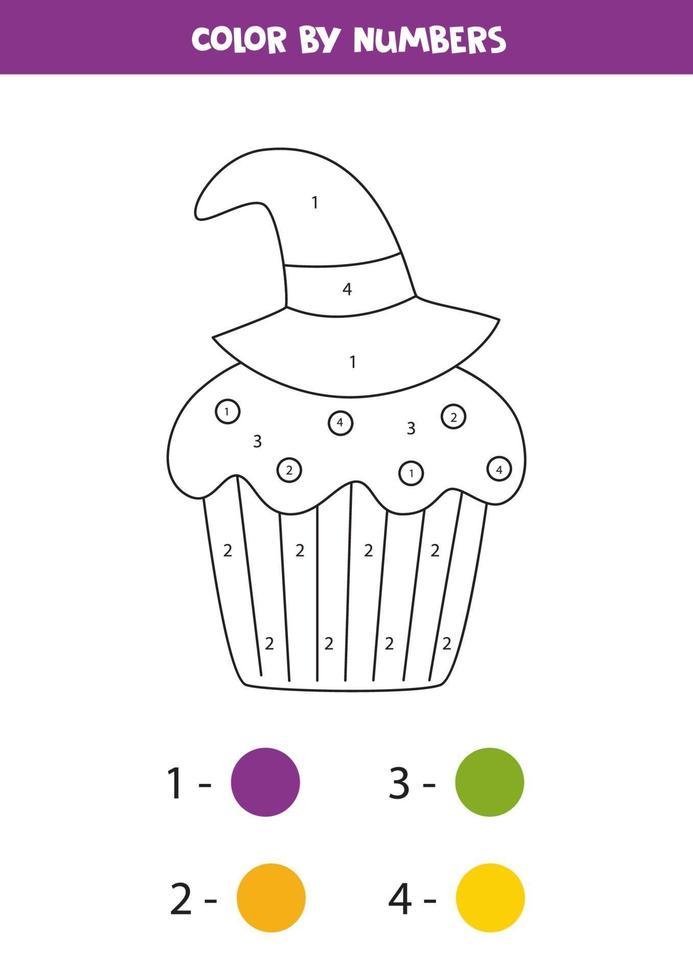 Dessin A Numero Halloween.Coloriage Mignon Petit Gateau D Halloween Par Numeros Jeu De Maths 2248685 Telecharger Vectoriel Gratuit Clipart Graphique Vecteur Dessins Et Pictogramme Gratuit
