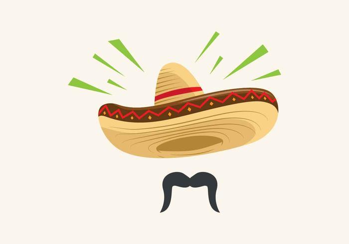 Illustration vectorielle de Sombrero vecteur