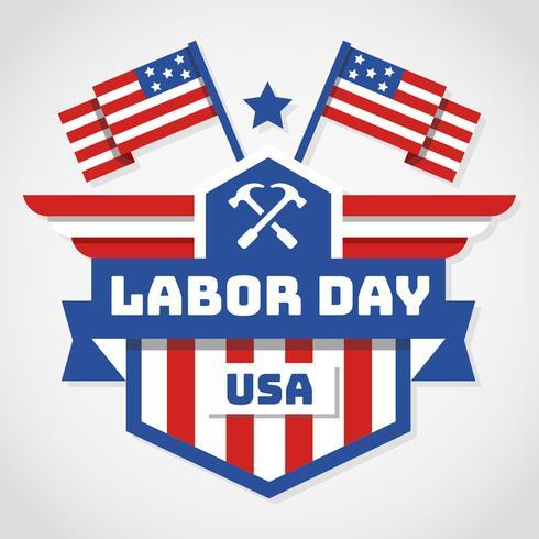 Vecteur de USA Day Labor
