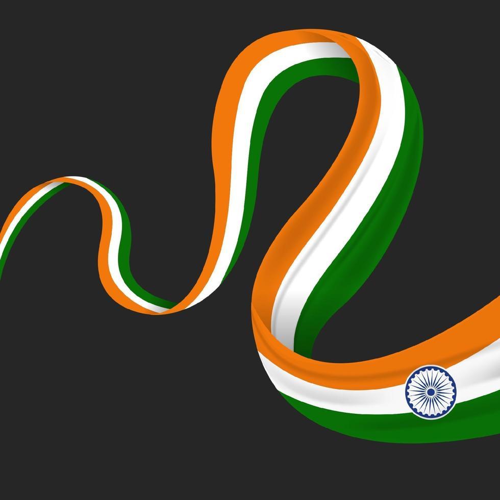 illustration de la bonne fête de la république indienne vecteur