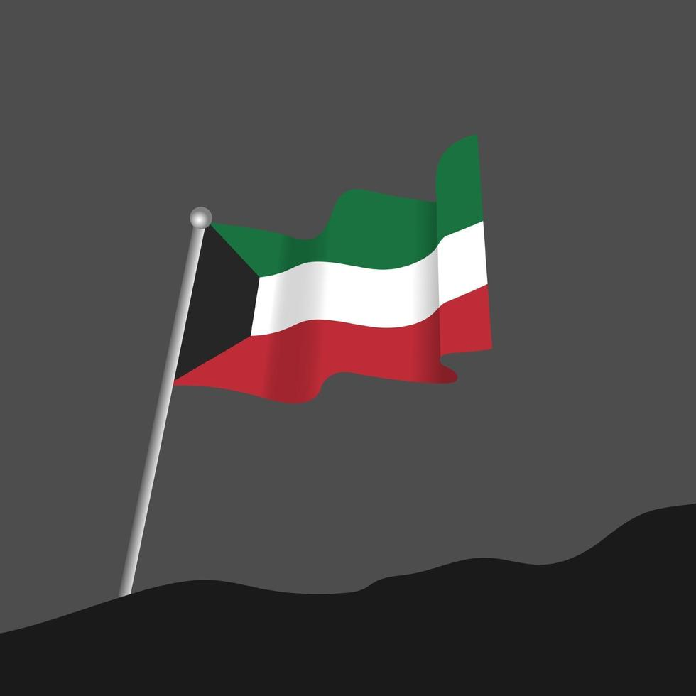 célébration de la fête nationale du koweït vecteur