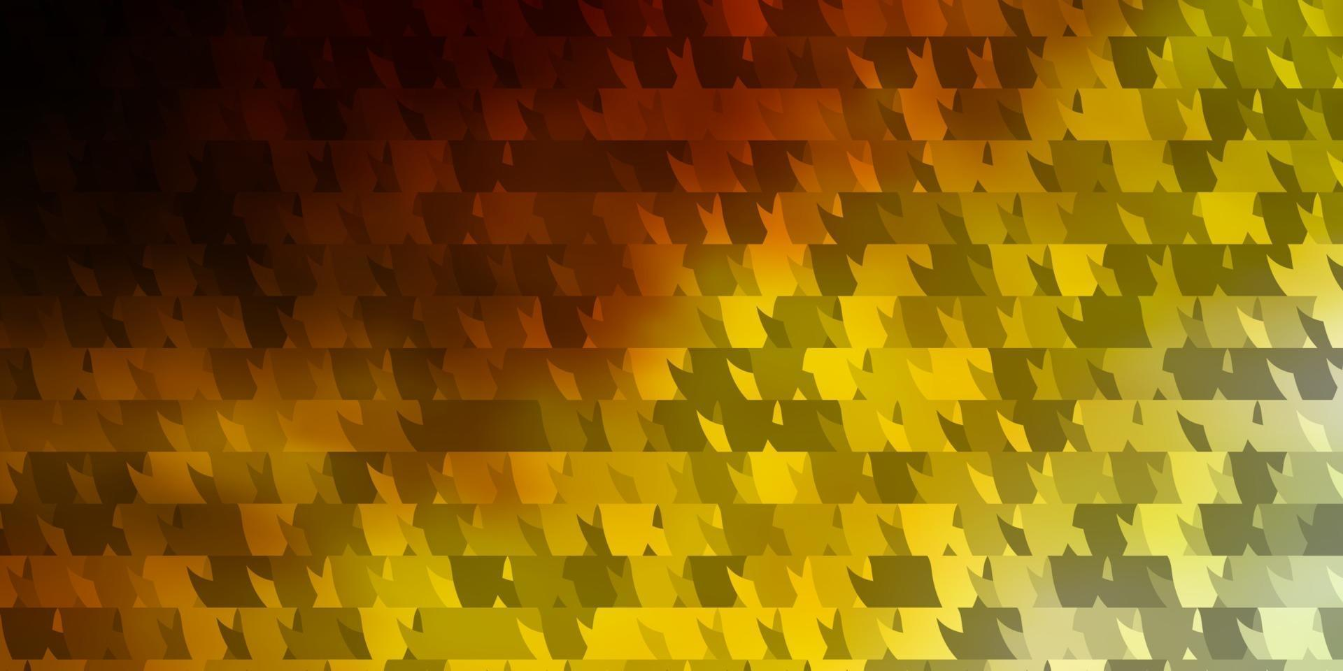 modèle vectoriel bleu clair, jaune avec un style polygonal.