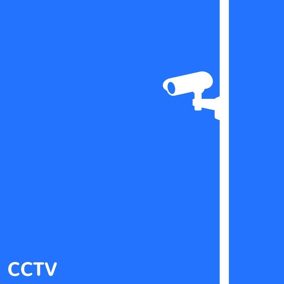 Cctv, conception de vecteur de caméra de surveillance