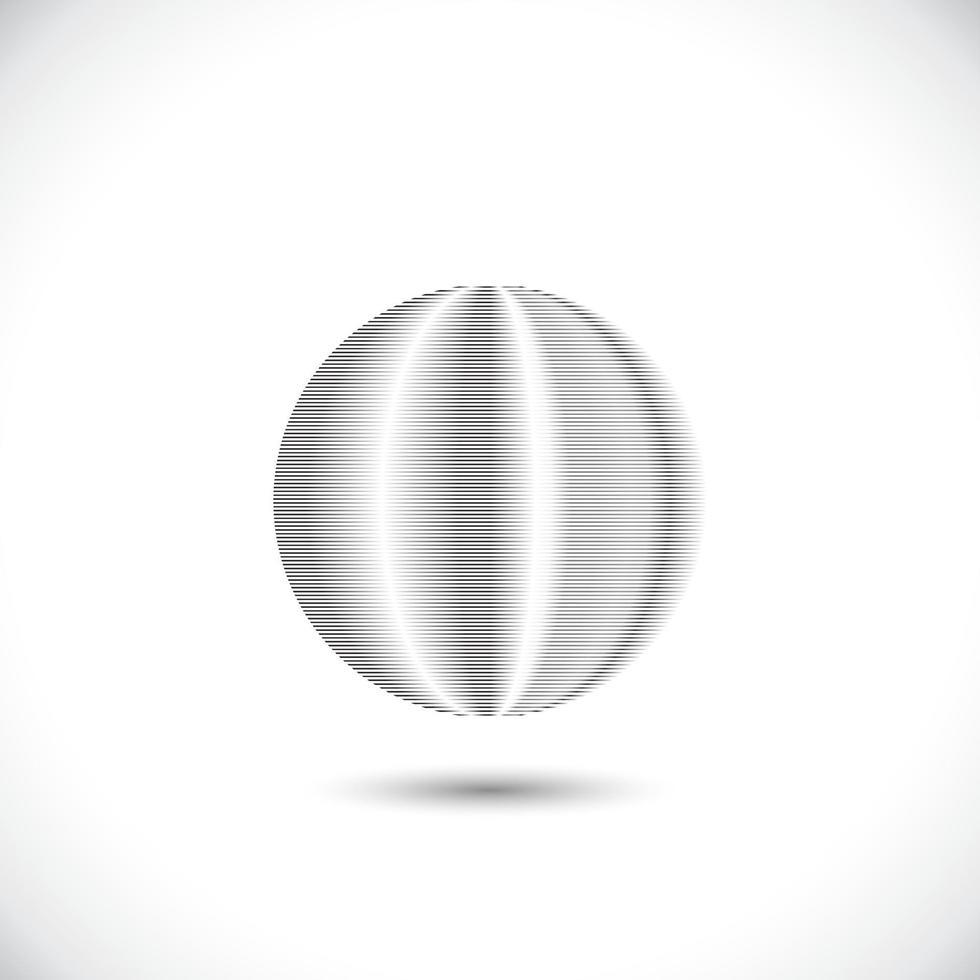 éléments de cercle concentrique. élément pour la conception graphique de sites Web, modèle pour impression, textile, emballage, décoration - illustration vectorielle vecteur
