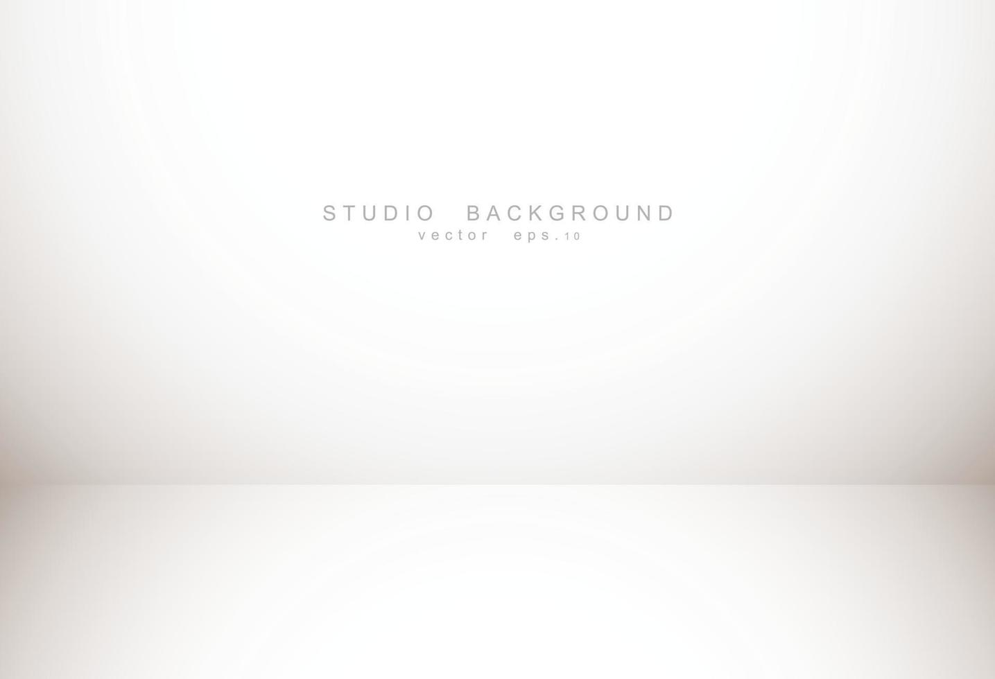luxe abstrait dégradé brun pastel vide avec vignette marron frontière, affichage de toile de fond studio de produit, toile de fond de l'entreprise. illustration vectorielle. vecteur