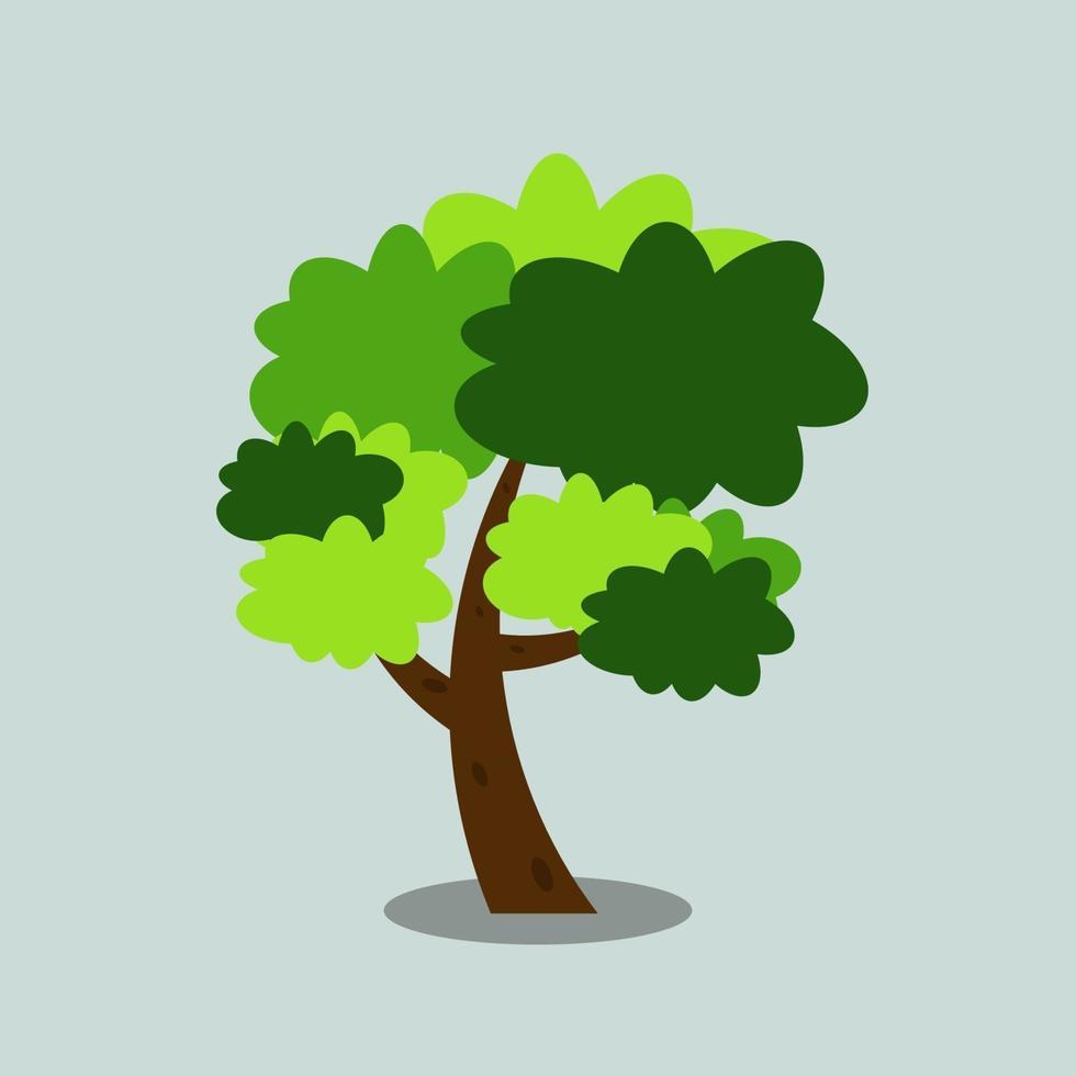 illustration d & # 39; icône d & # 39; arbre vecteur