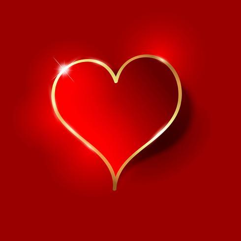 Fond de coeur vecteur