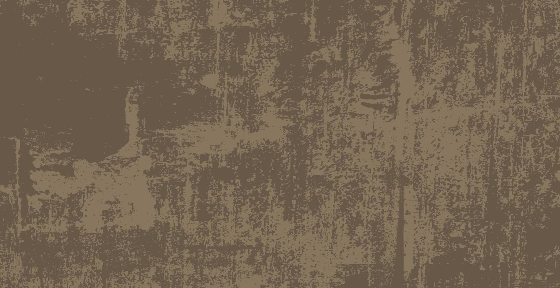 fond réaliste, vieux mur brun foncé - vecteur