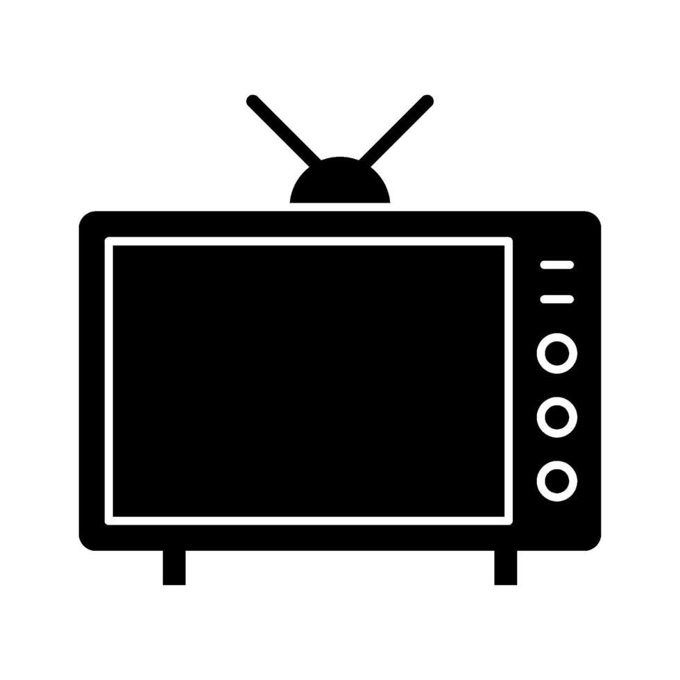 icône de vecteur de télévision
