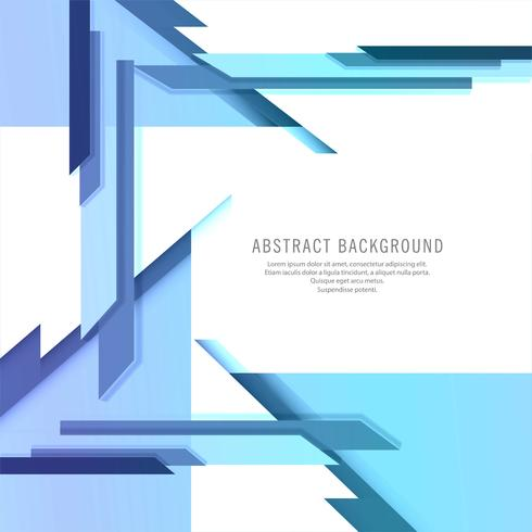 Design de vecteur de technologie créative bleu abstrait moderne