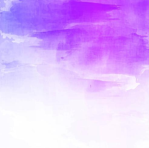 Main colorée abstraite dessiner fond aquarelle vecteur