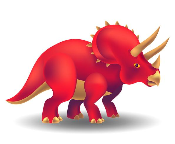 Dinosaure réaliste vecteur
