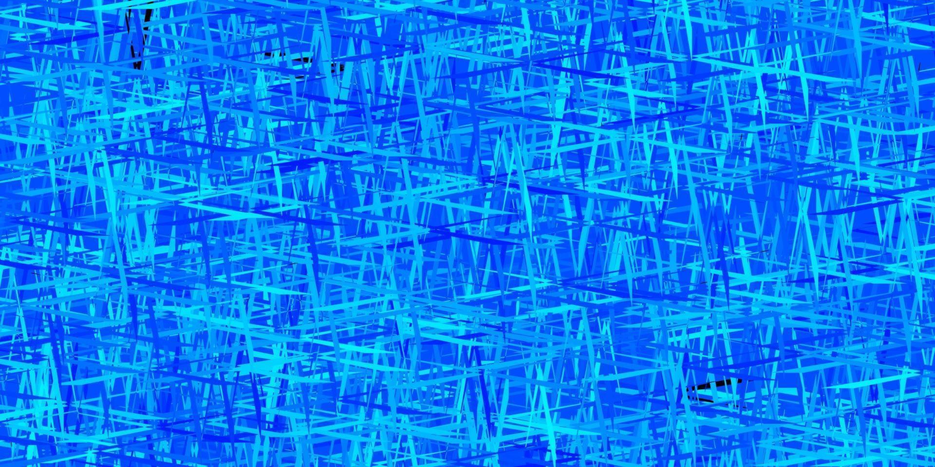 texture de vecteur bleu foncé, rouge avec des lignes colorées.