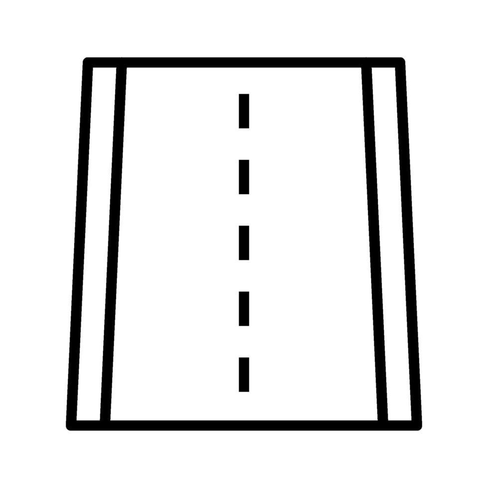 icône de vecteur de route