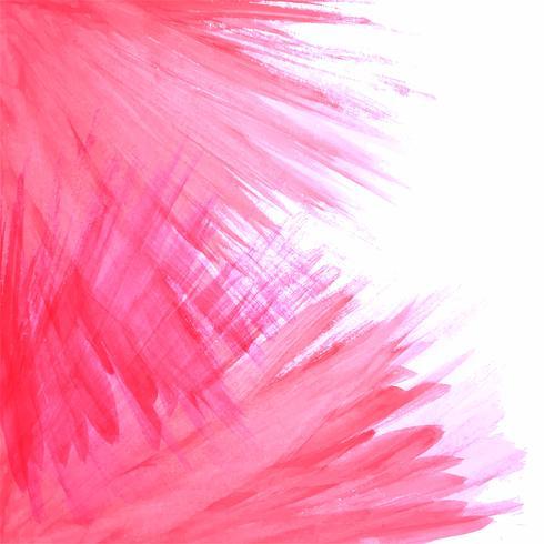 Fond de trait aquarelle abstraite vecteur