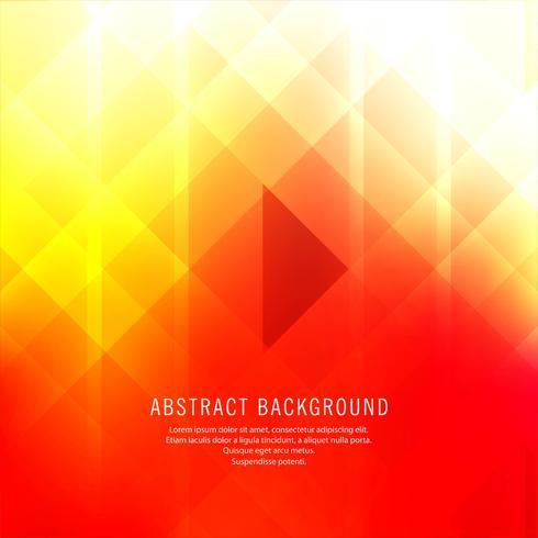 Abstrait coloré vectoriel polygonal
