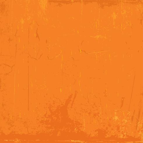 Fond grunge orange vecteur
