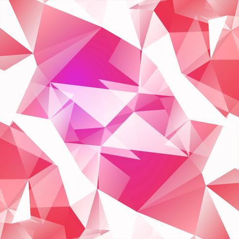Fond abstrait polygone coloré vecteur