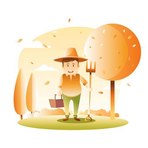 Vector illustration d'automne festival