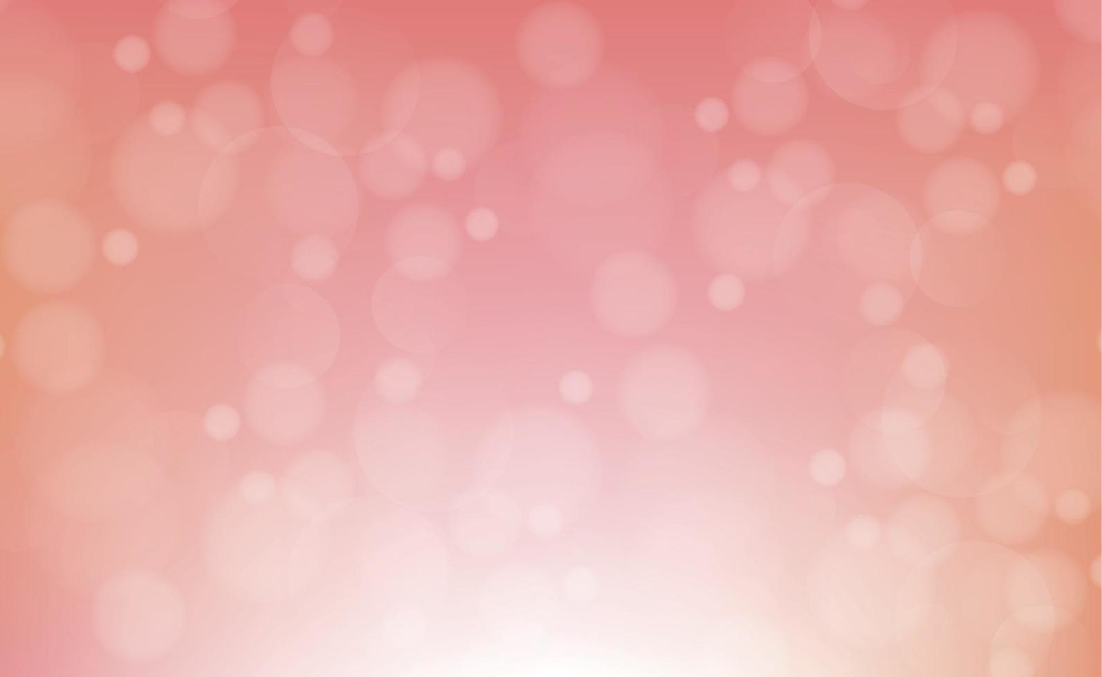 abstrait arrière-plan flou rouge avec effet bokeh vecteur