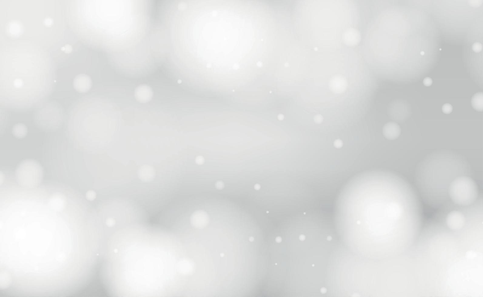 fond flou abstrait blanc avec effet bokeh vecteur