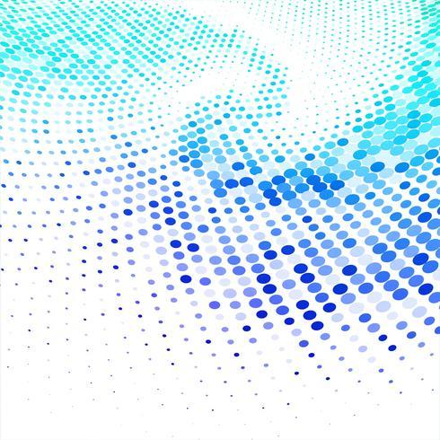 Vecteur de fond abstrait demi-teinte circulaire coloré
