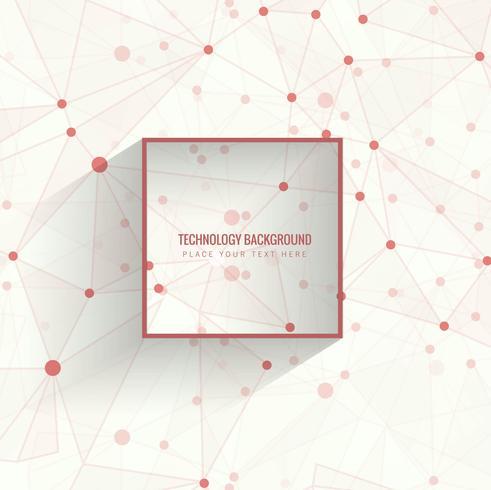 Technologie de forme géométrique abstraite numérique salut concept technologique arrière vecteur
